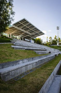 Borregos Stadium. Arkylab, Mauricio Ruiz. Aguascalientes, México. 2012.