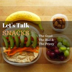 Let's Talk Snacks: For the Busy and the Health Conscious