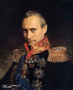Vladimir Putin by Steve Payne