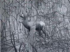 Gerhard Richter - Hirsch. One of my favorites.
