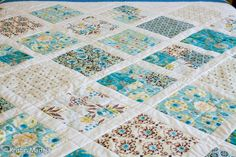 London by Dena Designs-- gotta find these fabrics & someone to make a twin sized quilt for Evelynn! :P