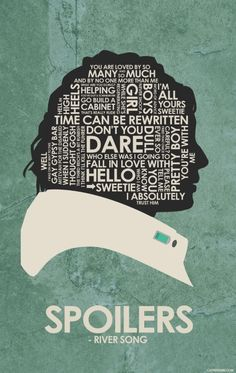 Doctor Who (2005–) ~ TV Series Quote Poster by Stephen Poon #amusementphile