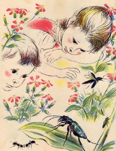 We Like Bugs - written by Gladys Conklin, illustrated by Artur Marokvia (1962).