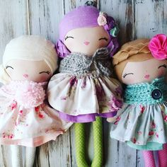 Spuncandy Dolls