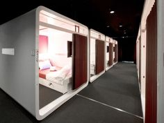 First Class Cabins. Photo courtesy of Plantec Associates.
