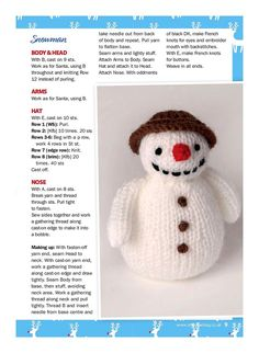 "Photo from album ""Knit Now No. 79 on : Photo, author grew.natalija on Yandex. Owl Knitting Pattern, Animal Knitting Patterns, Loom Knitting Patterns, Christmas Knitting Patterns, Knitting Projects, Baby Knitting, Crochet Patterns, Free Knitting, Knitting Toys"