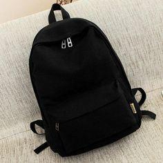 e63e045b7da4 Buy Suqi Simple Colour Canvas Women Backpack Students School Bag For Women  Girl Rucksack Mochila Escolar Women Backpack  20.00- ICON2. Brand ...