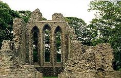 The site of Inch Abbey beside the marshy bank of the River Quoile was carefully chosen, as it is within sight of Downpatrick Cathedral and Mound.