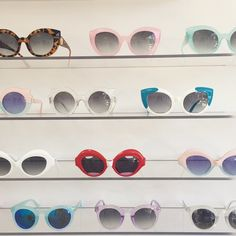 """""""Pretty pastels at the new @crapeyewear showroom in Venice. #throwshade"""" Photo taken by @nylonmag on Instagram, pinned via the InstaPin iOS App! http://www.instapinapp.com (04/09/2015)"""