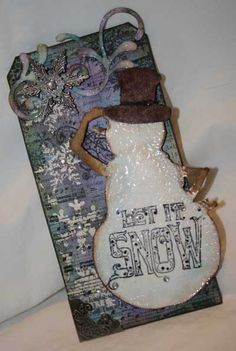 Scrapbooker's Paradise Tim inspired tags, day 6 tag 2