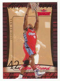 Elton Brand # 47 - 2004-05 Fleer Throwbacks Basketball