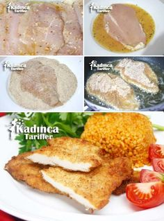 Tavuk Şinitzel Tarifi, Nasıl Yapılır – Tavuk tarifleri – Las recetas más prácticas y fáciles Schnitzel Recipes, Chicken Schnitzel, Best Dinner Recipes, Snack Recipes, Turkish Recipes, Ethnic Recipes, Middle Eastern Recipes, Slice Of Bread, Iftar