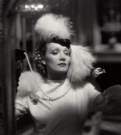 Old Hollywood star Marlene Dietrich, famous for wearing her own jewelry in movies, wore a cabochon emerald suite in the 1938 movie Desire. The jewels were exquisite! Old Hollywood Stars, Old Hollywood Glamour, Hollywood Actor, Golden Age Of Hollywood, Vintage Hollywood, Classic Hollywood, Hollywood Actresses, Hollywood Cinema, Marlene Dietrich