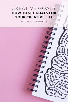 Creative Goals How to Set Goals for Your Creative Life Learn how to easily set goals for your creative projects track them with a fun tool and get a FREE mini workbook. Bleach Pen, Goal Planning, Bath And Beyond Coupon, Achieve Your Goals, Business Goals, Craft Business, Life Goals, Work Goals, Setting Goals