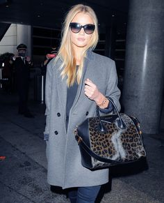 What Stars Are Carrying: Shop Their Must-Have Bags - Rosie Huntington-Whiteley from #InStyle
