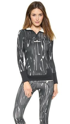 adidas by Stella McCartney Hooded Long Sleeve Top