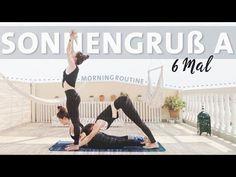 Yoga Sonnengruss Anfänger Routine | 6 Runden Surya Namaskar A Morgenroutine - YouTube