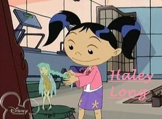 American Dragon Jake Long Characters | Season 3 Character Posters-Haley Long - American Dragon; Jake Long ...