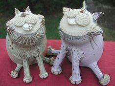 Pottery Cats