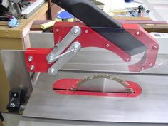 Tablesaw blade guard with dust collection! - by RetiredCoastie @ LumberJocks.com ~ woodworking community