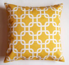 Gotcha print Throw Pillows for my chairs - PURCHASED FABRIC
