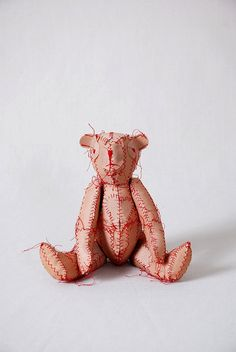 """Band-Aid Bear"" by jbl thistle, via Flickr"