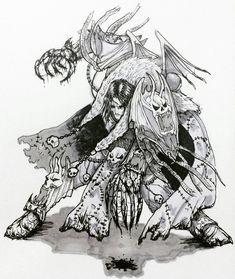 Warhammer 40000,warhammer40000, warhammer40k, warhammer 40k, ваха, сорокотысячник,фэндомы,Konrad Curze,Primarchs,Night Lords