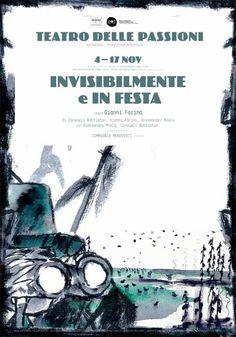 #Igort  per il manifesto di uno spettacolo ospite della Stagione 2010-11 al #Teatro delle Passioni di #Modena