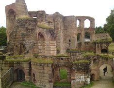 Roman thermen, Trier - Dútslân