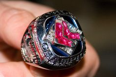 2007 Boston Red Sox World Series champions ring.