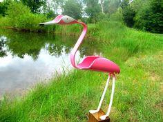 PVC pipe flamingo