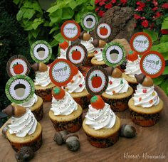 It's Written on the Wall: 150 Different Cupcakes  Happy Fall