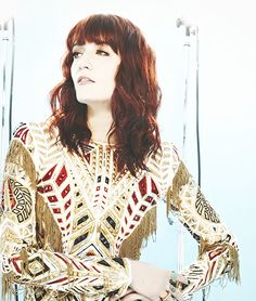 Florence Welch (my usual) Florence Welch Style, Indie, Florence The Machines, Love Her Style, Celebs, Celebrities, Famous Faces, Girl Crushes, Green Dress