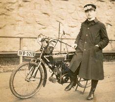 Kradfahrer ca. 1915
