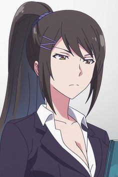 Chica Anime Manga, Kawaii Anime, Female Characters, Anime Characters, Anime Classroom, Anime Uniform, Character Art, Character Design, Waifu Material