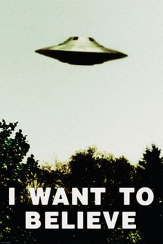 The X-Files - I Want To Believe Print Poster