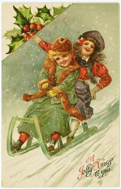 Victorian - The First Christmas Cards ~ Blog of an Art Admirer
