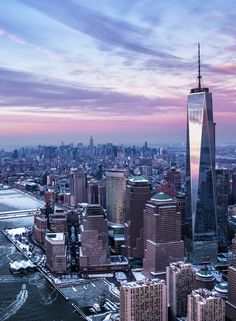 The new One World Trade Center