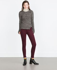 ZARA - WOMAN - JEGGINGS