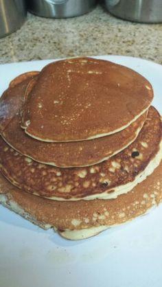 Coconut flour pancakes!