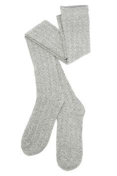 Winsome Wanderer Grey Over the Knee Socks at Lulus.com!