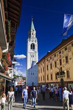 Cortina d'Ampezzo - Dolomites - Italy - http://www.travelandtransitions.com/european-travel/
