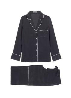 EQUIPMENT 拼色围边真丝睡衣套装. #equipment #cloth #拼色围边真丝睡衣套装 Clothing, Shoes & Jewelry - Women - Clothing - Lingerie, Sleep & Lounge - Lingerie - Lingerie, Sleepwear & Loungewear - http://amzn.to/2lSL4Y7
