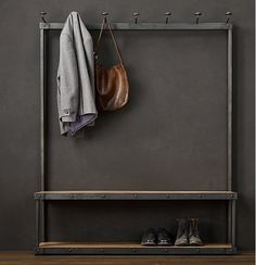 LOFT American French rustic furniture , wrought iron coat rack hanger clothing hangers special direct(China (Mainland))