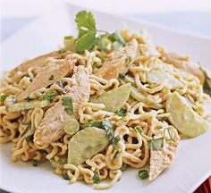 Thai Chicken Noodle Salad in 15 Minutes!