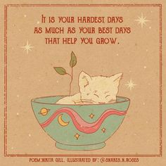 Mood Quotes, Girly Quotes, Positive Quotes, Pretty Words, Happy Thoughts, Cat Art, Wall Collage, Hippie Art, Aesthetic Wallpapers