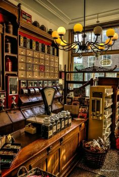 Old fashioned shops