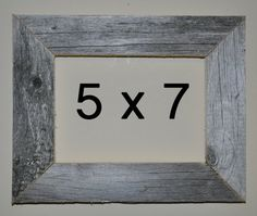 5 x 7 Driftwood Picture Frame 522 by DriftwoodMemories on Etsy