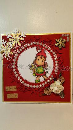 Handmade Christmas, Magnolia, Christmas Cards, Card Making, Boxes, How To Make, Crafts, Home Decor, Christmas E Cards