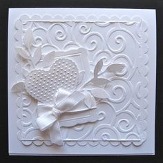 Gorgeous. White for wedding or could easily switch to Pink Pirouette for a baby shower... Very pretty.